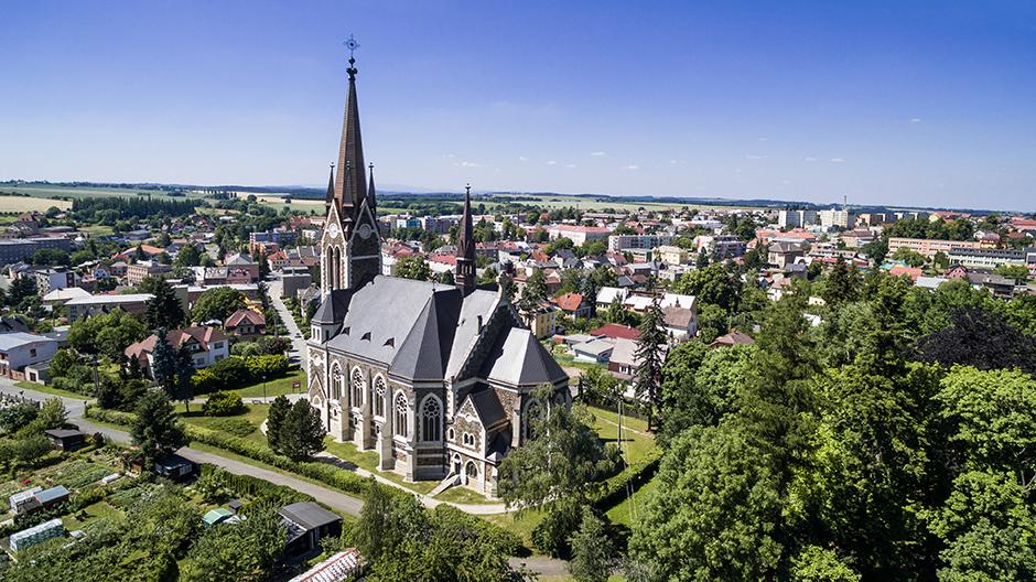 Kostel Nanebevzetí P. Marie ve Vítkově