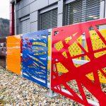 Vzorkovna designových plotových výplní (Vsetín-Bobrky)