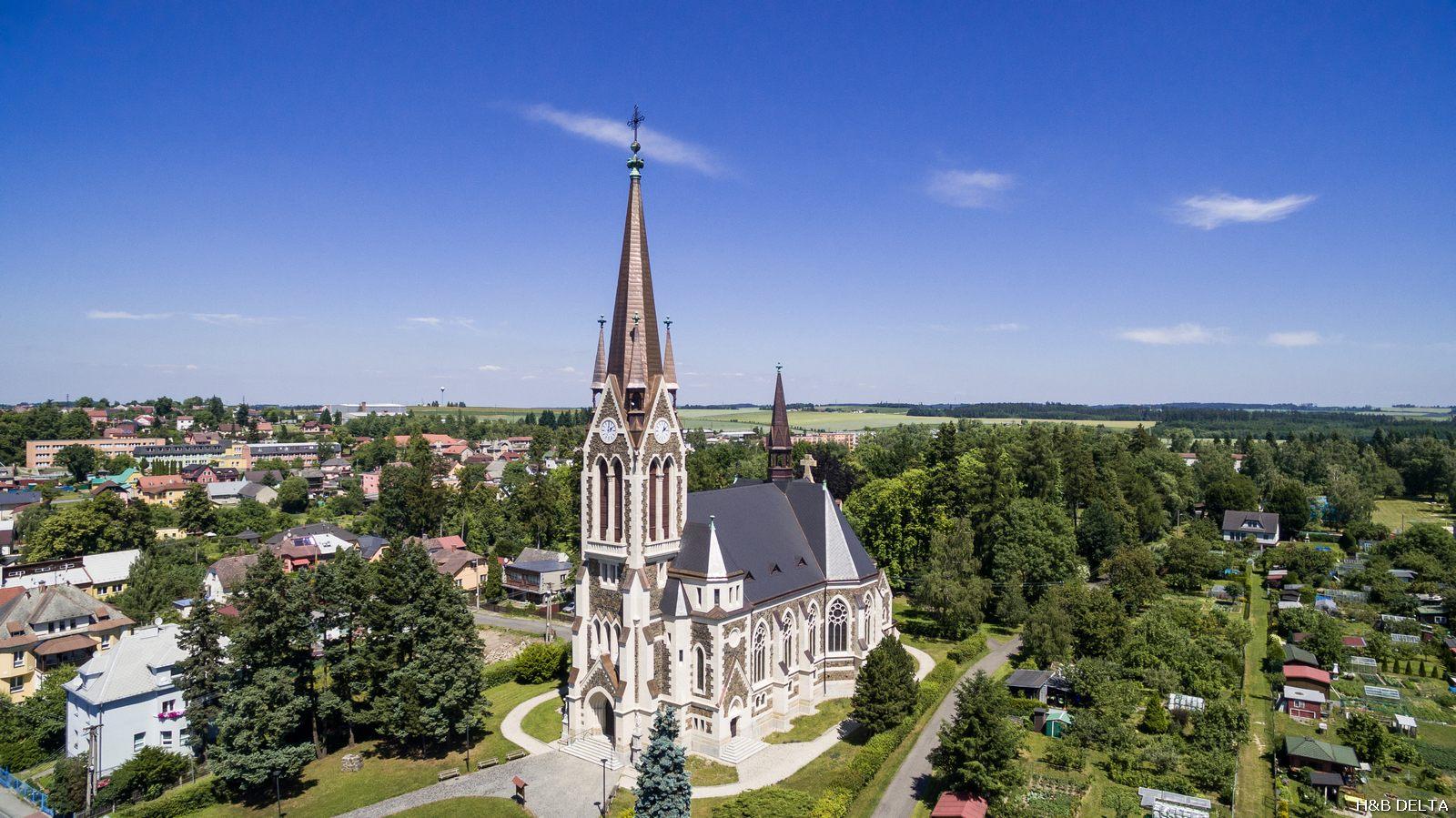 Kostel Nanebevzetí Panny Marie Vítkov