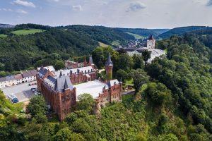 Červený zámek Hradec nad Moravicí