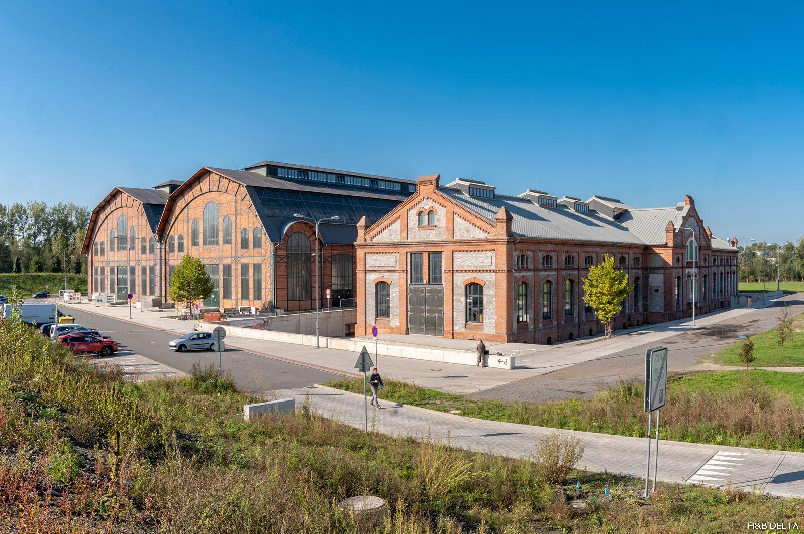 Trojhalí Ostrava – Ústředna